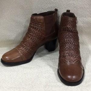 Brighton Galore brown booties